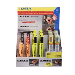 Lyra INK & DRY - Baumarker Display - 30er Pack